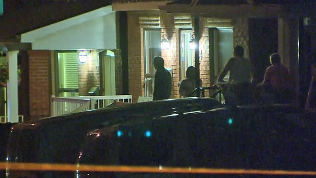 Toronto police said bullets were fired into a home on Rockvale Avenue on Tuesday night, the evening after police responded to a call of shots fired on the same street.