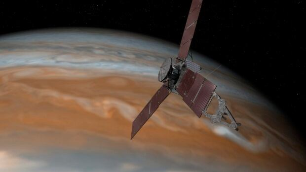 Space Journey To Jupiter