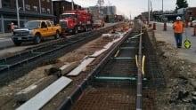 LRT tracks