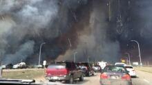 Fort McMurray evacuation gridlock