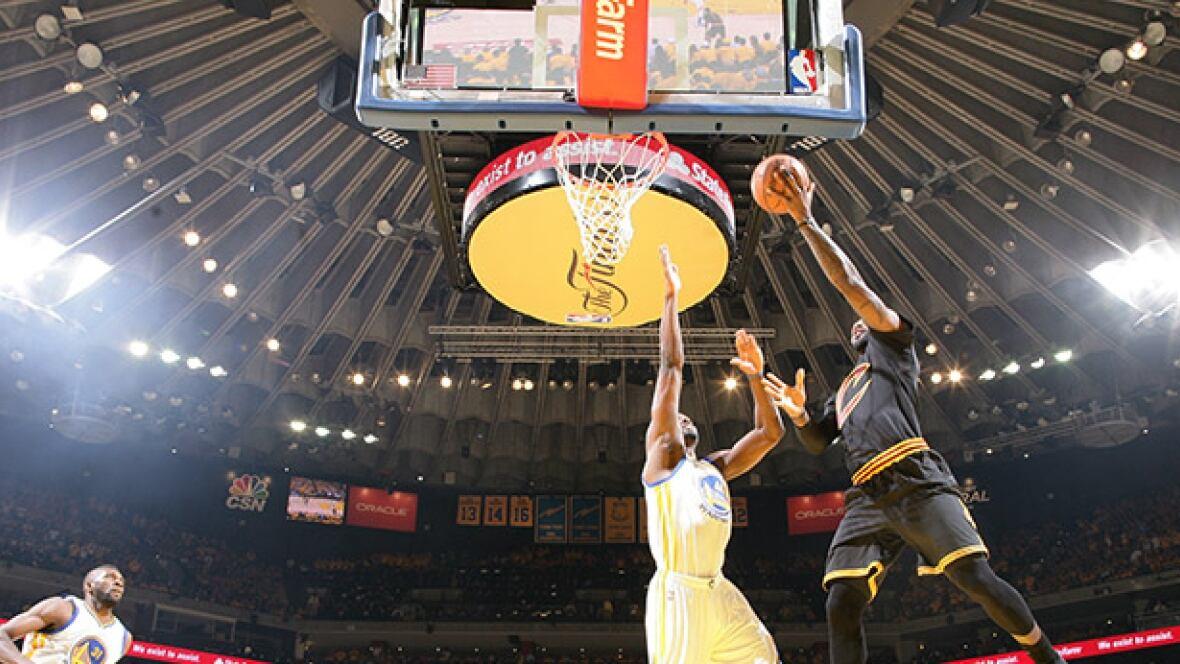 NBA Finals Game 7: Cavaliers lead Warriors after 1st quarter - CBC Sports - Basketball - NBA