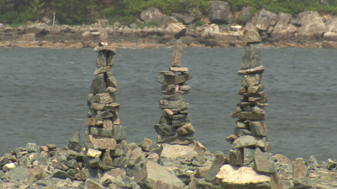Time running out for Bedford Basin rock sculptures - CBC.ca