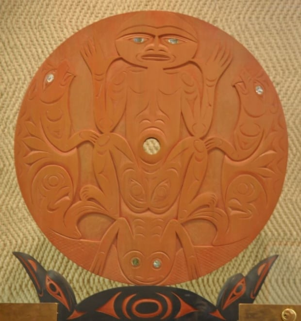 Valuable first nations carving stolen from uvic british