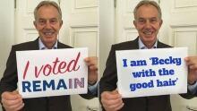 Tony Blair Photoshops