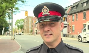 Const. Chuck Benoit Ottawa police cycling one metre rule June 2016