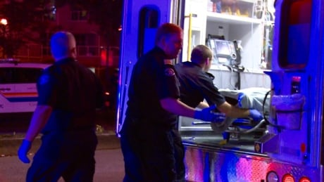 Surrey stabbing sends four to hospital, one arrested