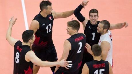 men's volleyball team canada