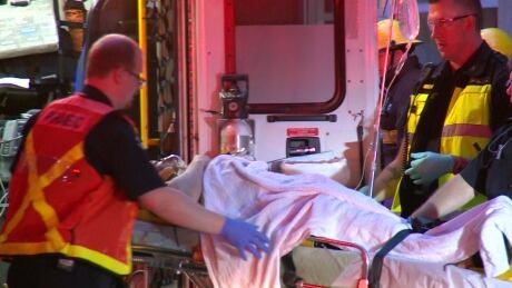 Vancouver Fire rescues driver trapped inside vehicle