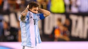 Lionel Messi says he's retiring from international soccer