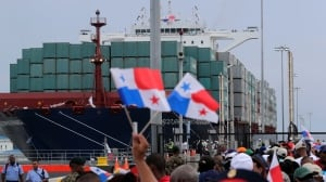 PANAMA-CANAL: COSCO container — June 26, 2016