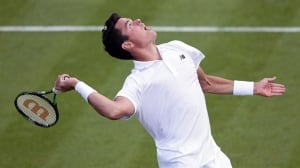 Milos Raonic overpowers 1st-round Wimbledon foe