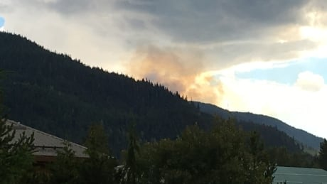 Thunderstorm sparks wildfire on Whistler Mountain