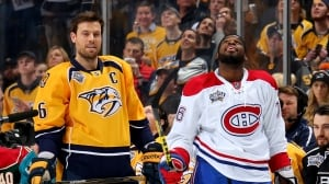 Subban traded to Nashville in blockbuster deal for Weber