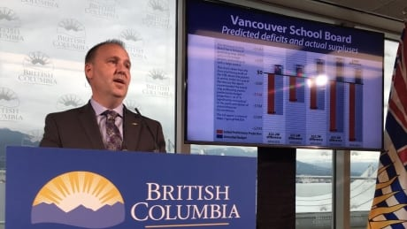 Education minister orders audit of Vancouver School District, but stops short of firing board