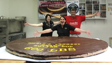 Instead of Canada Day birthday cake, take a bite of this 600-pound peanut butter cup
