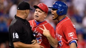 Edwin Encarnacion, John Gibbons ejected on Canada Day