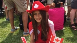 Syrian family celebrates 1st Canada Day away from scars of war