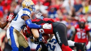 Stampeders dominate Blue Bombers with strong running game