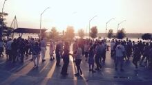 Salsa on the waterfront