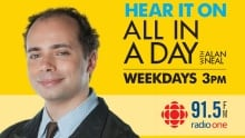 alan neal all in a day postcard cbc