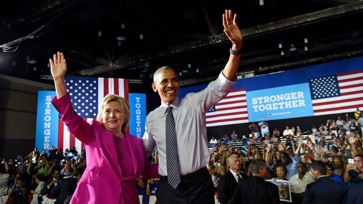 politics obama clinton campaign charlotte
