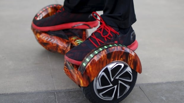 Major hoverboard recall issued due to fire concerns