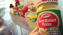 New Bick's mustard pickles