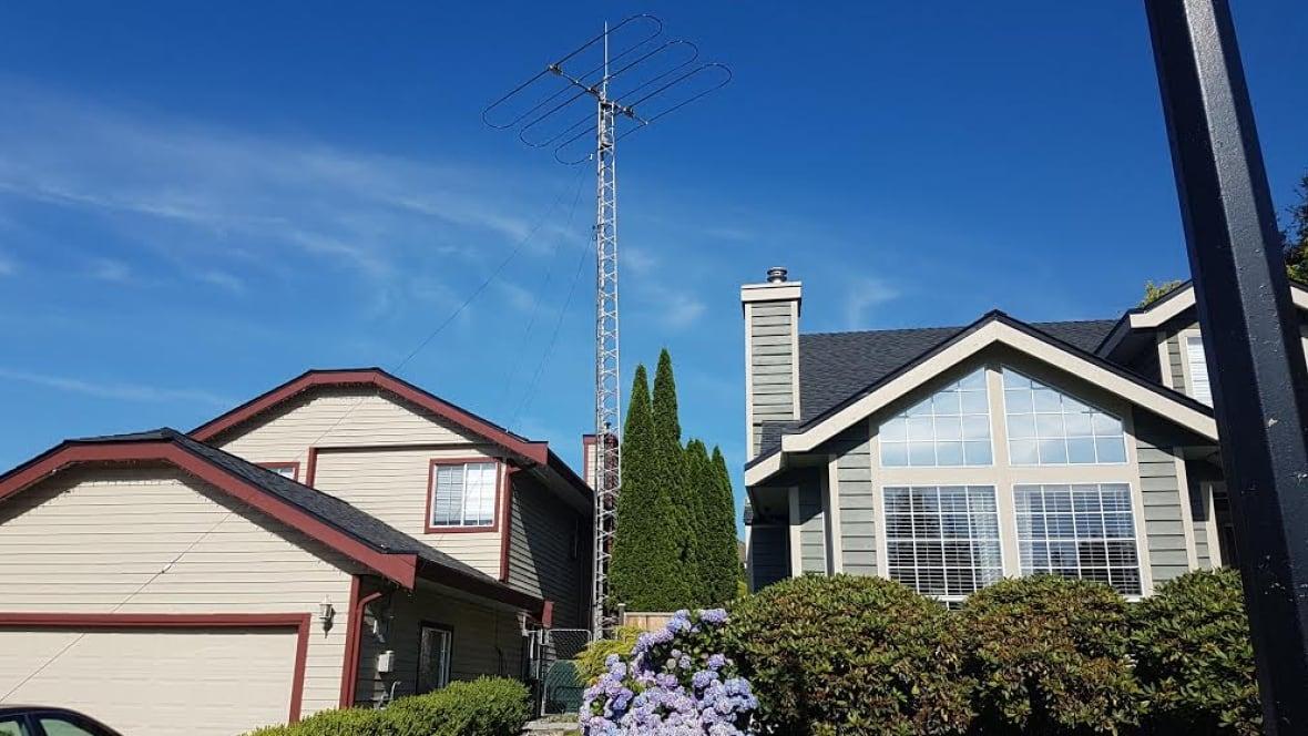 Ham Radio Tower Frustrates Maple Ridge Neighbours