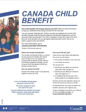 Canada Child Benefit, are you eligible? Is it taxable? How ...