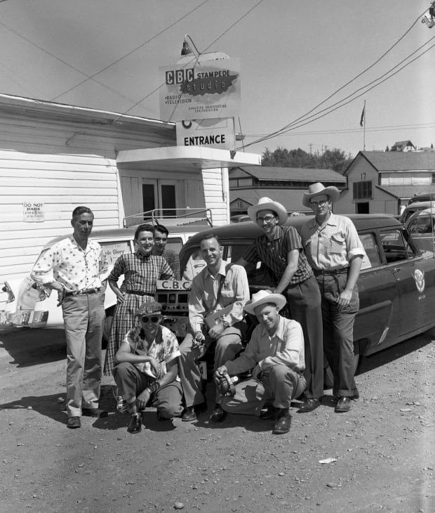 What Stampeding With Cbc Looked Like 60 Years Ago And
