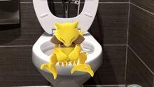 pokemon go washroom