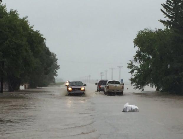 Arborfield mandatory evacuation