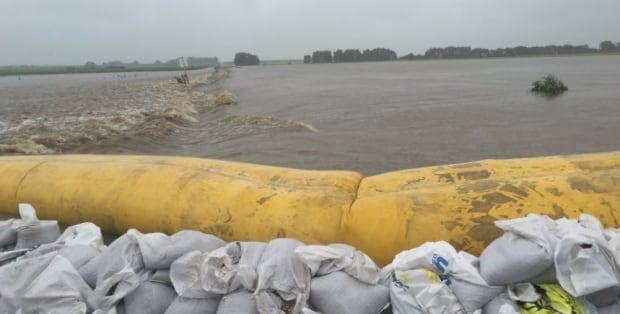 Arborfield, Saskatchewan flooding
