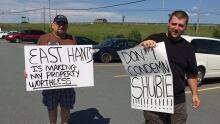 shubenacadie river protest