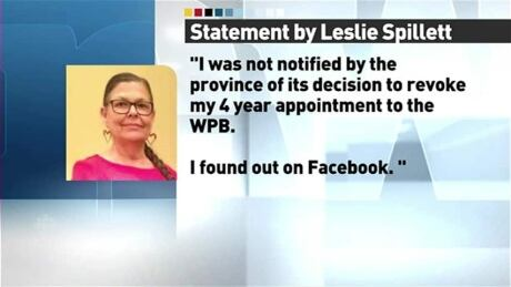 Inner City Activist Leslie Spillett Removed From Winnipeg