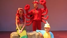 The Little Mermaid at The Guild in Charlottetown, P.E.I. summer 2016