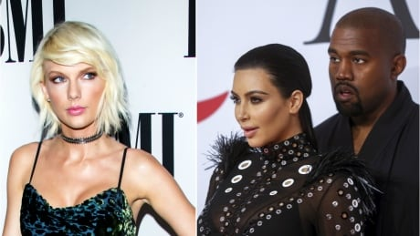 Taylor Swift on the defence in revived beef with Kanye West, Kim Kardashian