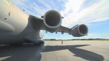 C-17 Lands in St. John's