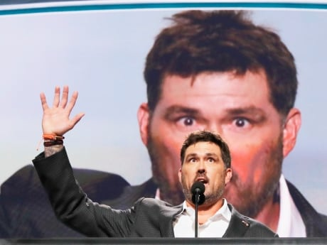 The speakers on Day 1 included former U.S. Navy SEAL Marcus Luttrell, who survived a firefight in Afghanistan, and the mother of a diplomat killed in the 2012 Benghazi embassy attack. Their speeches criticized former secretary of state Hillary Clinton.
