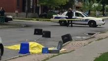 Police at Ottawa's 9th homicide of year on St. Andrew Street