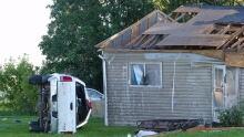 Long Plain First Nation tornado damage