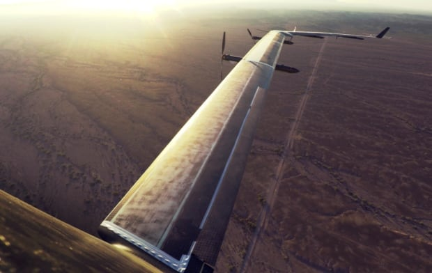 Facebook solar-powered Aquila drone