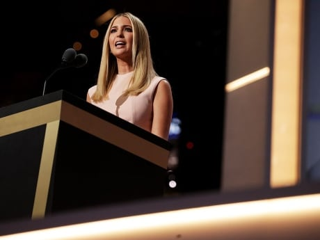 Ivanka Trump tells delegates that her father is