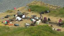 Archeology dig Memorial University summer field school