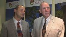 Godfrey Baldacchino and Jim Randall co-chairs of Island Studies and Sustainability