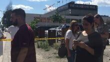 Globe and Mail evacuation