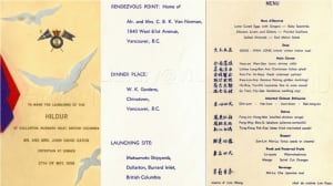 History of famous Vancouver Chinatown restaurant revealed through collected menus