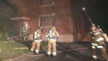 Trenton Ave fire