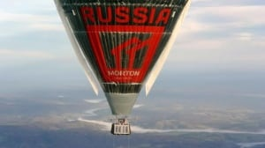 Russian balloonist claims record after circumnavigating globe
