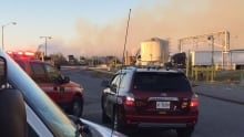 Mississauga paper mill fire